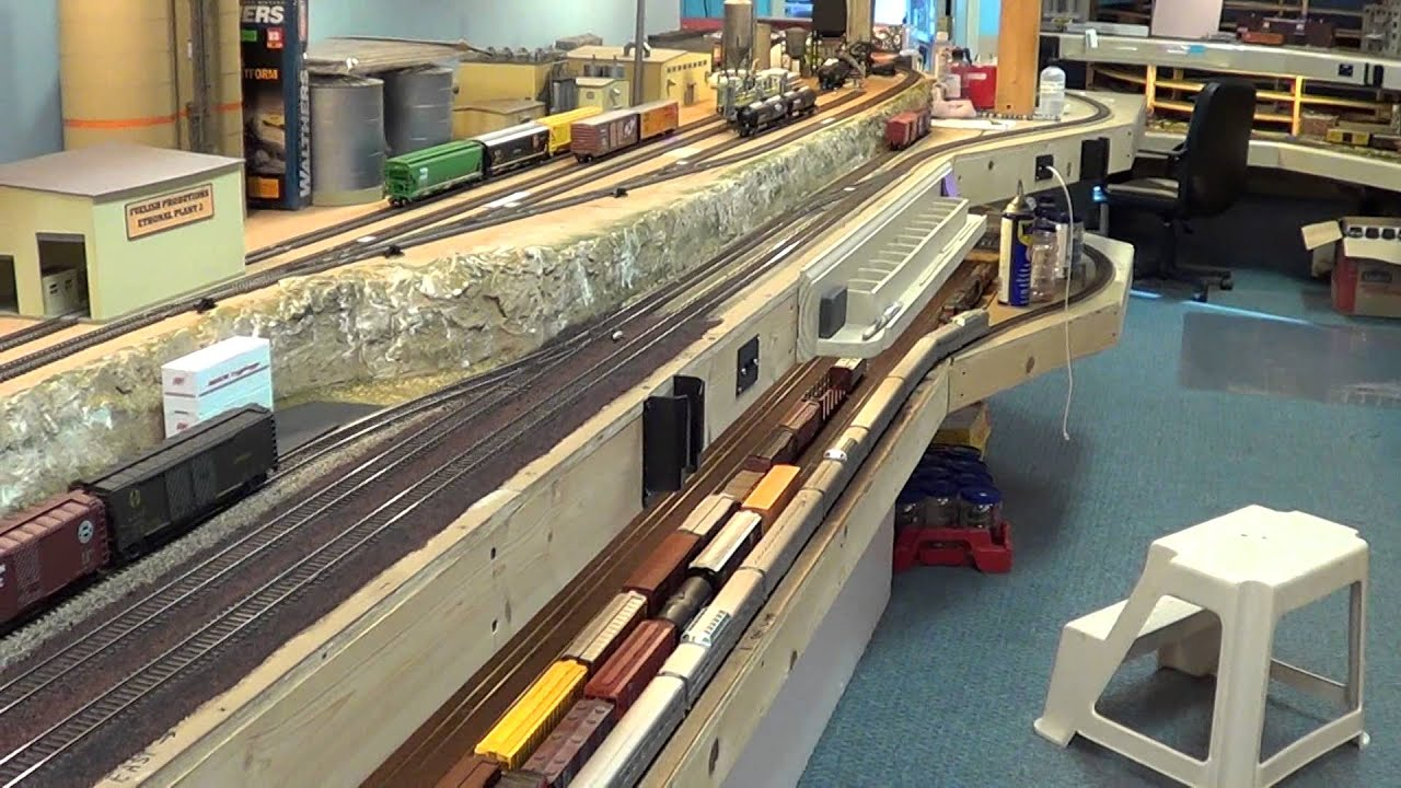 LAYOUT DESIGN AND BUILDING A MODEL RAILROAD HO YouTube