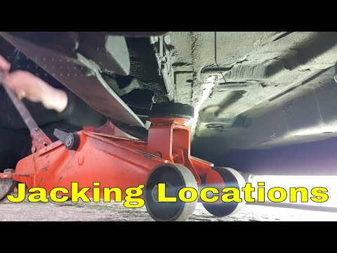 how to: ford jacking points