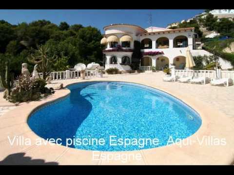 location espagne maison villa avec piscine