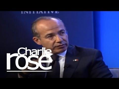 Felipe Calderon, President of Mexico (10/12/12) | Charlie Rose