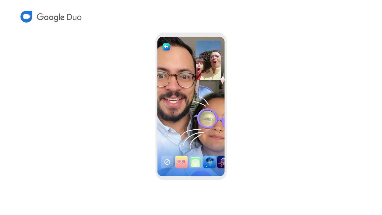 Google Duo - Modo Familia*