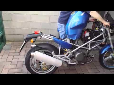 Ducati Monster 600 Accensione Dopo Linverno Youtube