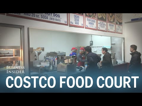 We tried the Costco food court and it totally blew us away