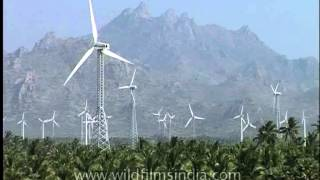 Wind Power from Southern India