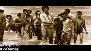 Đêm Chôn Dầu Vượt Biển, Tiếng hát Kim Trúc,  tác giả Châu Đình An