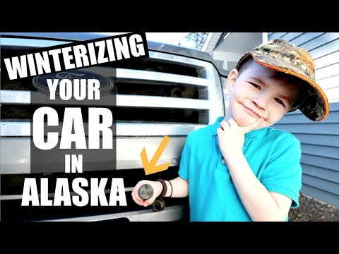 WINTERIZING YOUR CAR IN ALASKA| WHY DO WE PLUG IN OUR CARS?| Somers In Alaska Vlogs