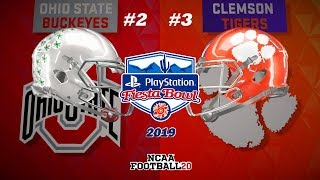 Full gameplay of ohio st vs clemson in the playstation fiesta bowl.follow me on ig: www.instagram.com/coleonthestixfollow @cfbmxx for pc mod instructions#nca...