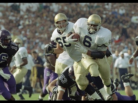 Classic Tailback – Jerome Bettis Notre Dame Highlights