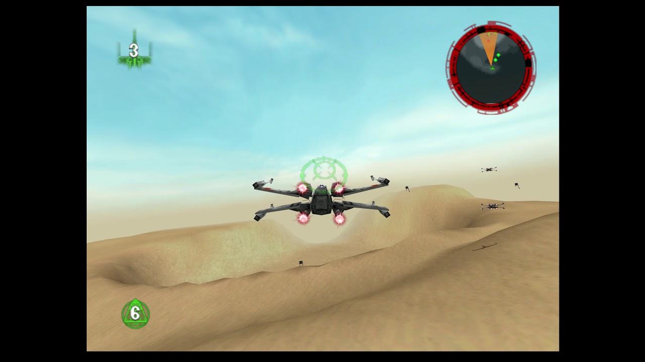 Libretro Cores Quick Look - Mupen64Plus Next - Star Wars: Rogue Squadron  (Updated GLideN64)