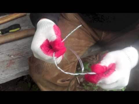 Как заплетать стальной трос (As braided steel cable)