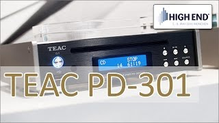 High End 2016: TEAC PD-301 CD-Player