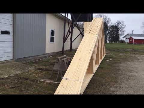 Roof trusses Home Depot Menards Lowes
