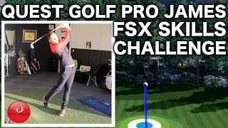 NEW QUEST GOLF PRO JAMES - ATTEMPTS THE SKILLS CHALLENGE