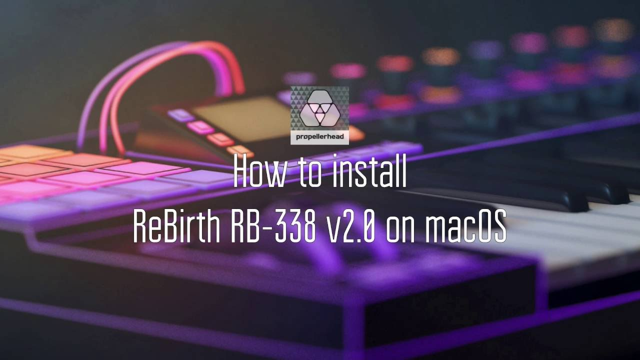 REBIRTH RB 338 TÉLÉCHARGER