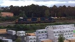 CSX Moving Power At Junta (GP40-2/GP38-2/GE) Cartersville, GA 9/16/2018 ©