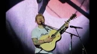 Ed Sheeran Hearts Don& 39 t Break Around Here Gillette Stadium 9 15 18