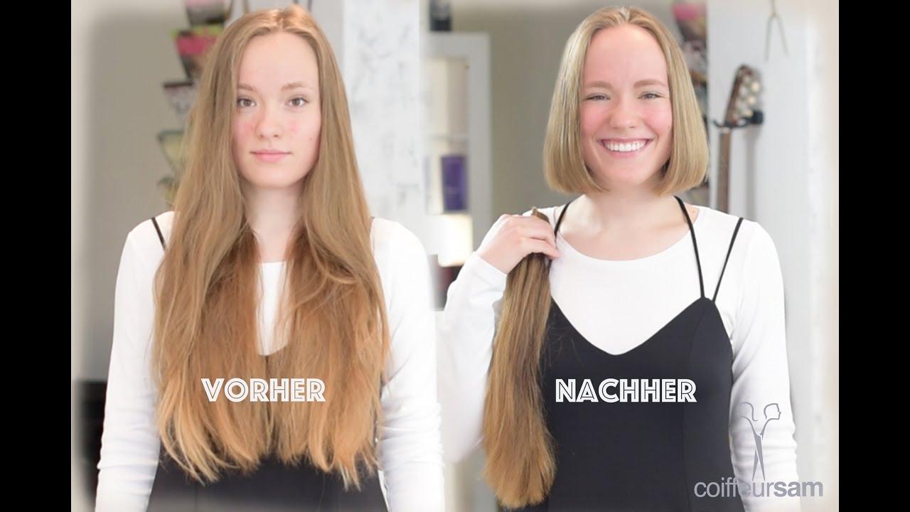 11++ Frisuren lang vorher nachher Ideen