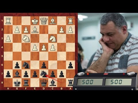 LIVE Blitz #2403 (Speed) Chess Game - Black vs GM Eric Hansen (Canda) in Kings Indian Defence