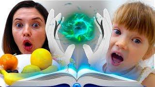 Настя Мама и история для детей про игры с магией