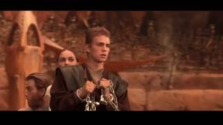 """Энакин и Падме на арене Джеонозиса . """" Звездные войны: Эпизод 2 """" 2002"""