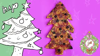 Kijk Kerstboompizza filmpje