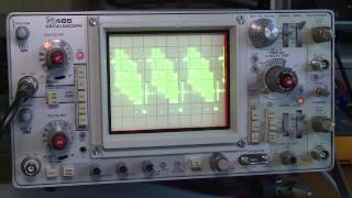 Repeat youtube video Tektronix 465 Oscilloscope Testing