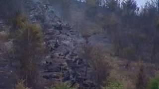 L'incendie de forêt du col des Cassettes (Rhône)
