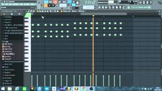 how to make a dancehall riddim/beat part1 (chords and melody) January 2016