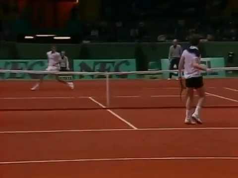 Mats Wilander vs McEnroe Final - Davis Cup 1984