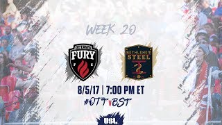 Ottawa Fury vs Bethlehem Steel FC full match