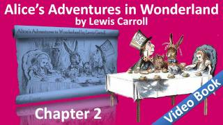 Chapter II: The Pool of Tears. Classic Literature VideoBook with sy...