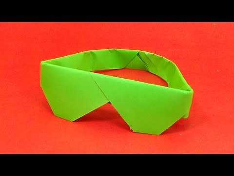 Paper Craft Sunglasses | How To Make Easy Origami Sunglasses 👓 | Paper Sunglasses Tutorial
