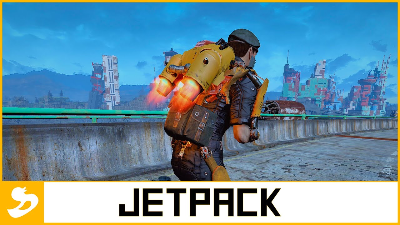 fallout 4 jetpack animation