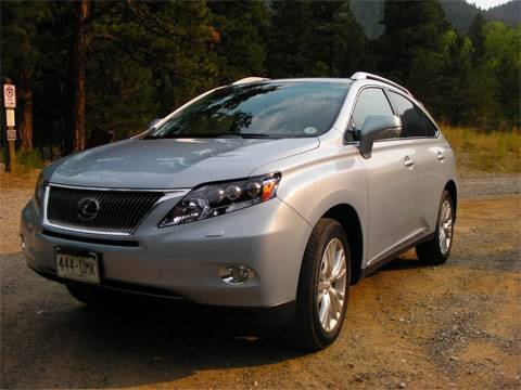 2010 Lexus RX 450h hybrid review