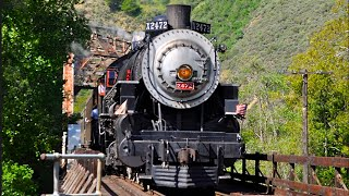 Spring Steam Train Southern Pacific 2472