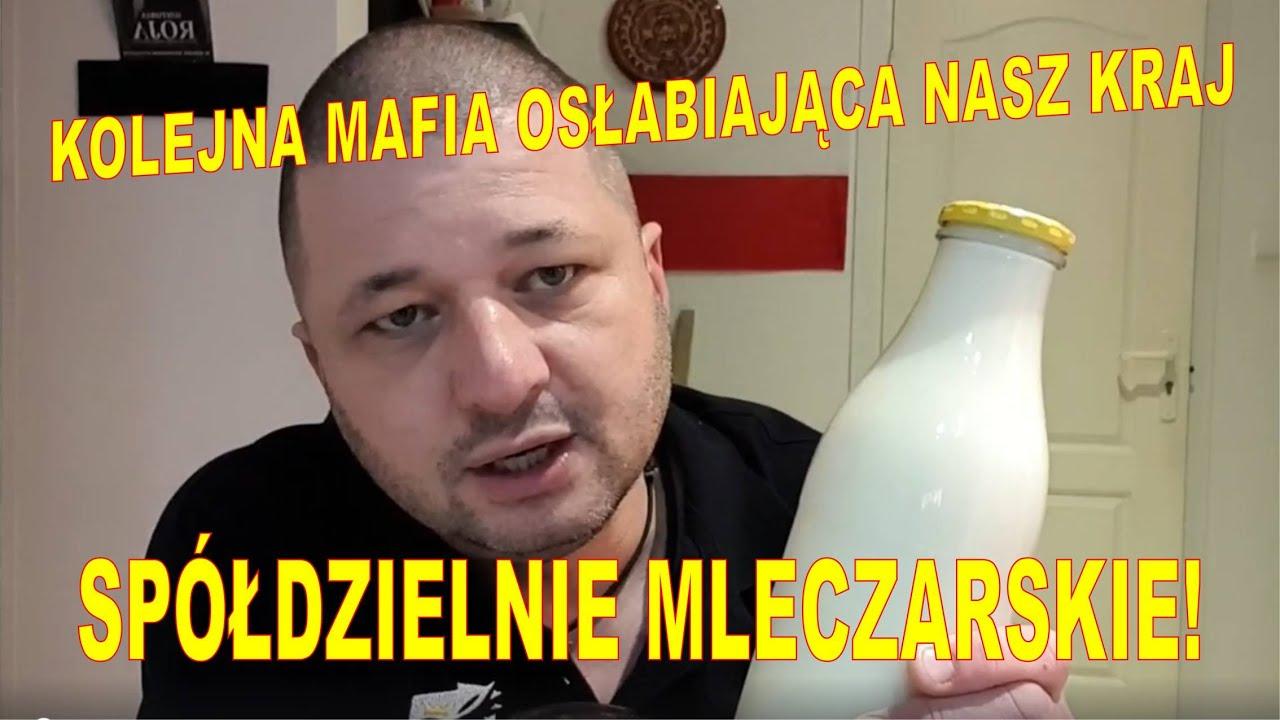 Kolejna mafia grabiąca Polskiego Rolnika!! Przemysł mleczarski!!