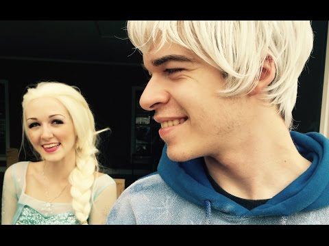 Jelsa First Date (Queen Elsa and Jack Frost)