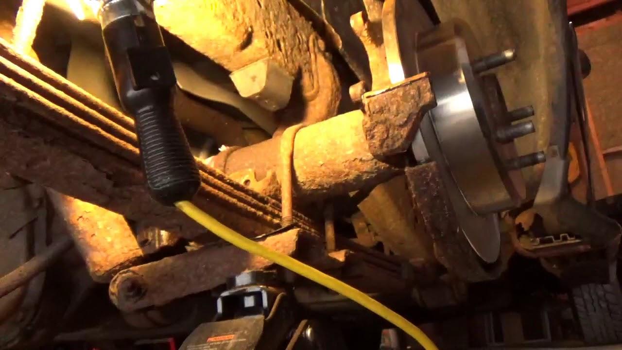 2000 ford explorer rear brake line part 4 [ 1280 x 720 Pixel ]