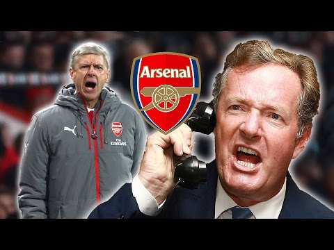Piers Morgan v Arsene Wenger: Arsenal Boss Shredded On talkSPORT