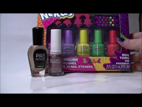 Lots Nail Polish Haul Part 1 Of 3 Revlon Nerds Pro Lacquer