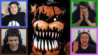 4 FACECAMS! ☠ - Five Nights at Freddy's Multiplayer!