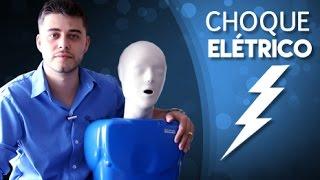 Como coluna elétrico choque dor na