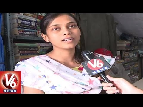 Demand For Second Hand Books Rise In Hyderabad | Special Report | V6 News