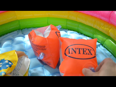 Детские надувные нарукавники для плавания Intex 58652 и 58642 от 2-6 лет