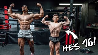 HOW TO BUILD MUSCLE AS A TEENAGER WITH TRISTYN LEE