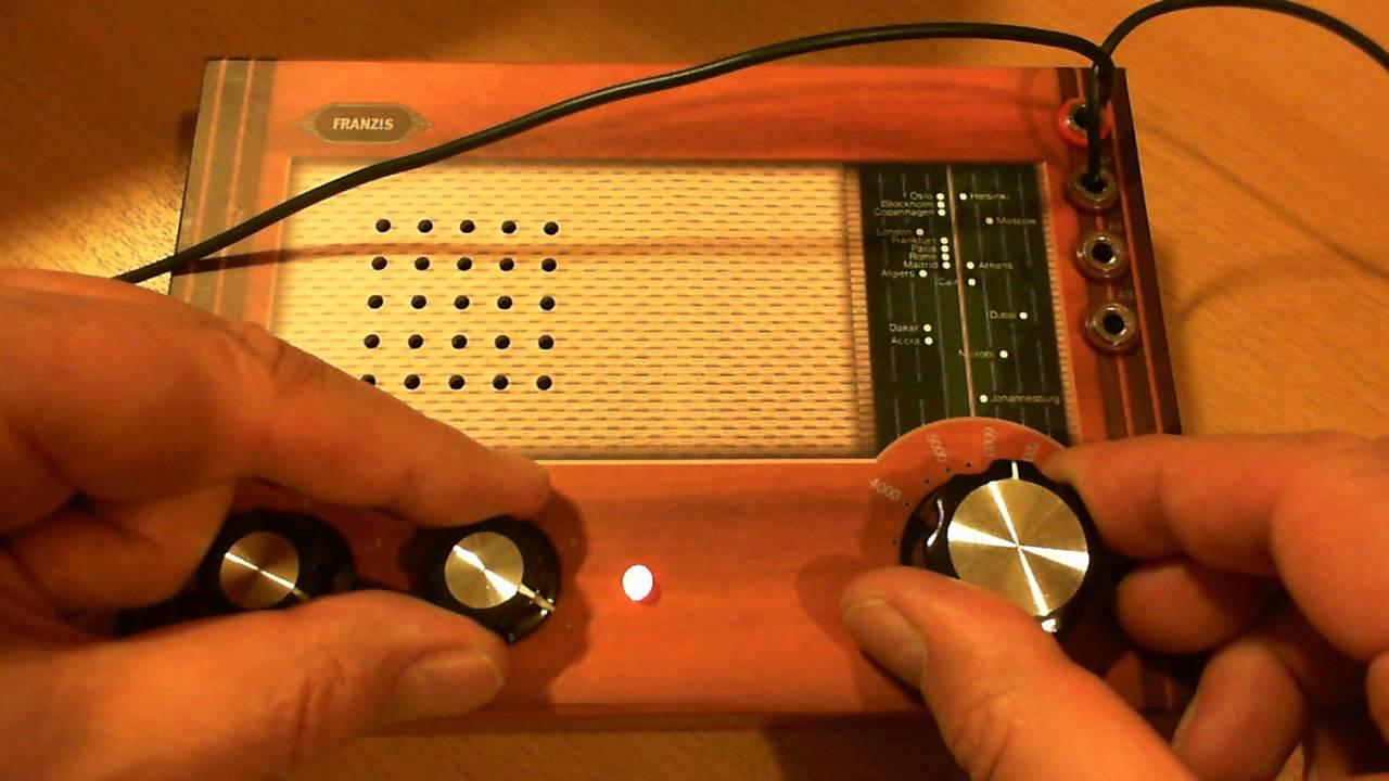 Kurzwellen audion mit loop antenne funnydog tv - Antenne tv surf ...