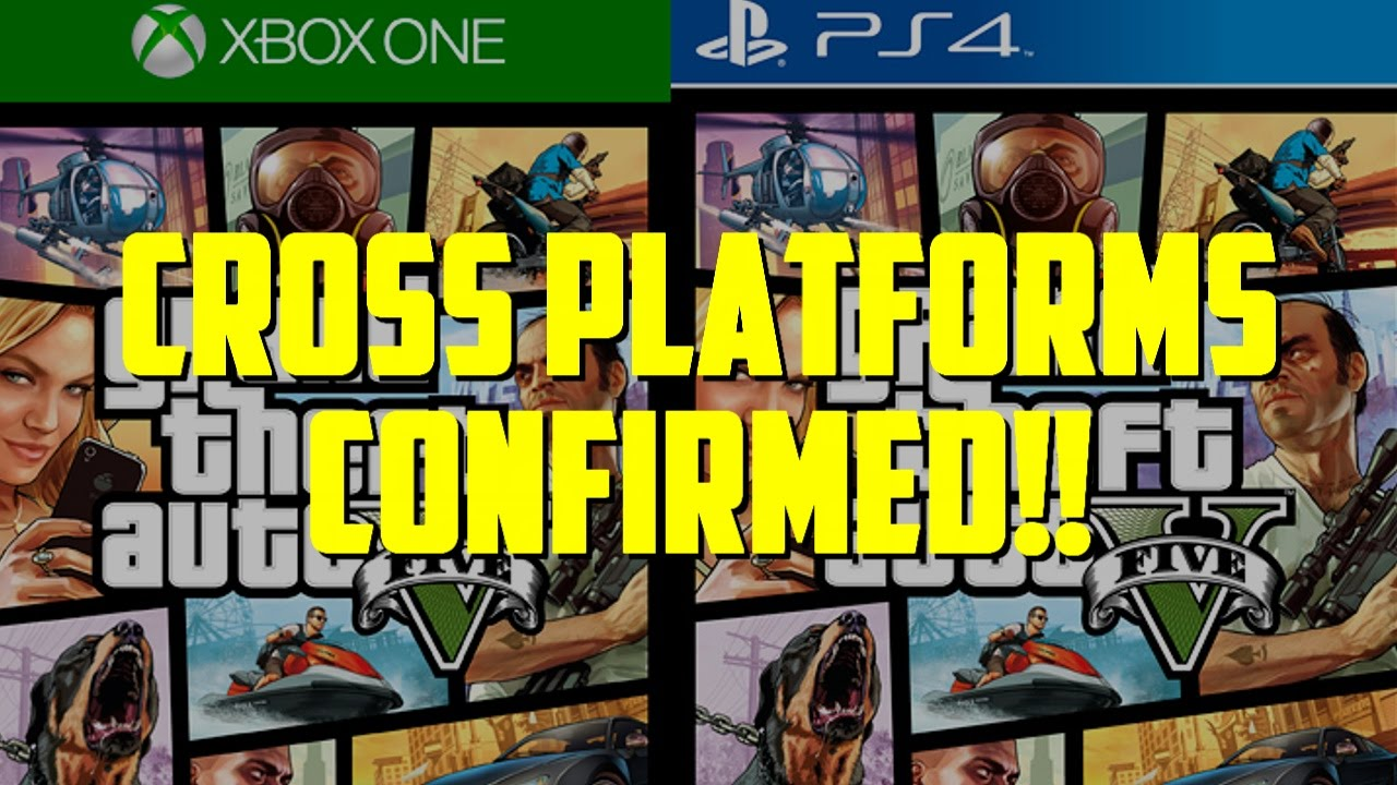 PS4, XBOX ONE And PC Cross Platform Play Announced! (GTA 5 Commentary)