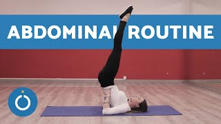 Pilates Abdominal Routine- A step by step