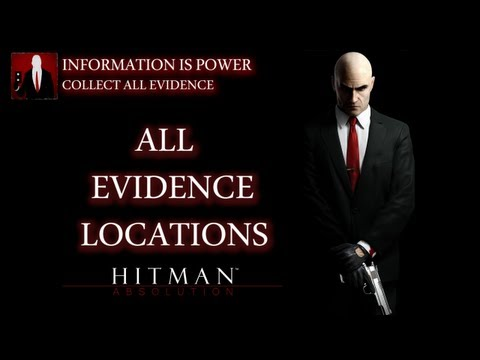 Hitman Absolution - All Evidence Locations (Information Is Power Trophy / Achievement Guide)