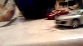 Audi R8 крушительное падение